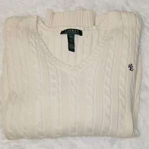 Ralph Lauren Cream Knitted Sweater